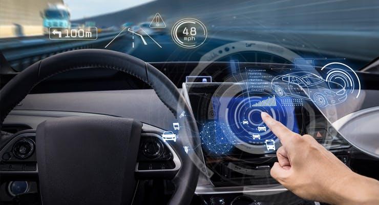 Smart car tech in used cars for sale in Dubai, UAE