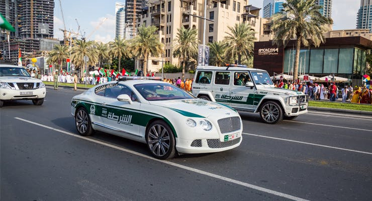 Dubai Police Owns the Fastest Police Car in the World - Newsroom