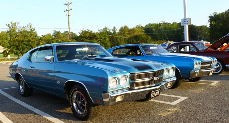 Top 4 Muscle Cars from...