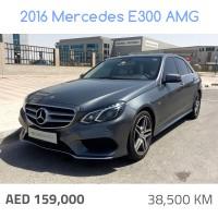 2016 Mercedes E300 AMG (8321)