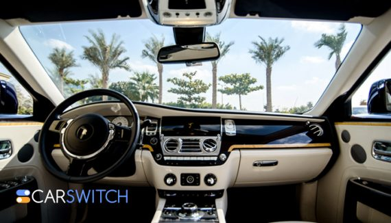 Buy used cars in Dubai, including luxury cars with cool features