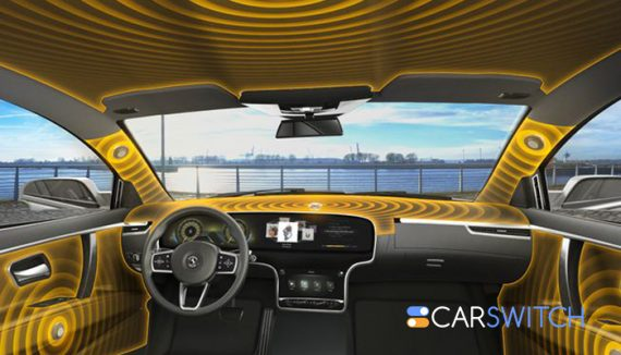 Imagine speaker-less cars of the future