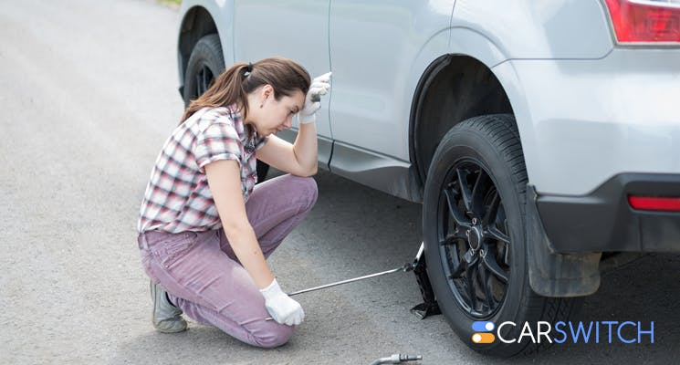 Check the condition of your car tires