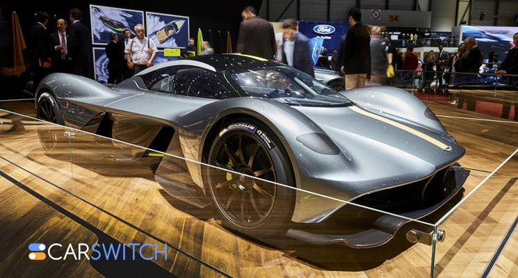 Aston Martin Valkyrie at the Dubai International Motor Show