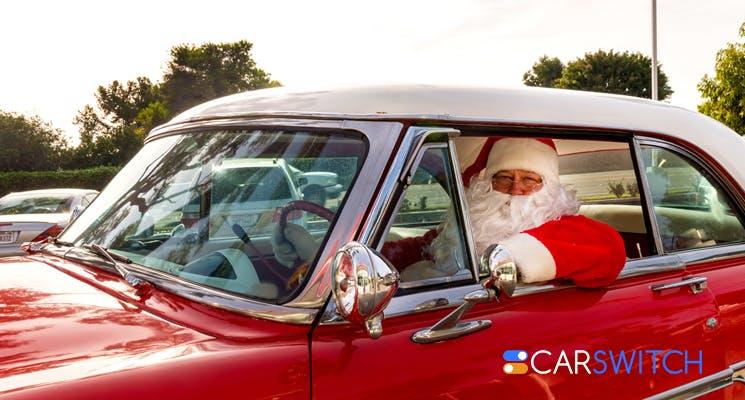 fun santa cars