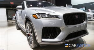 All-New Jaguar F-Pace SVR Revealed at the 2018 New York Auto Show Will Leave You Stunned