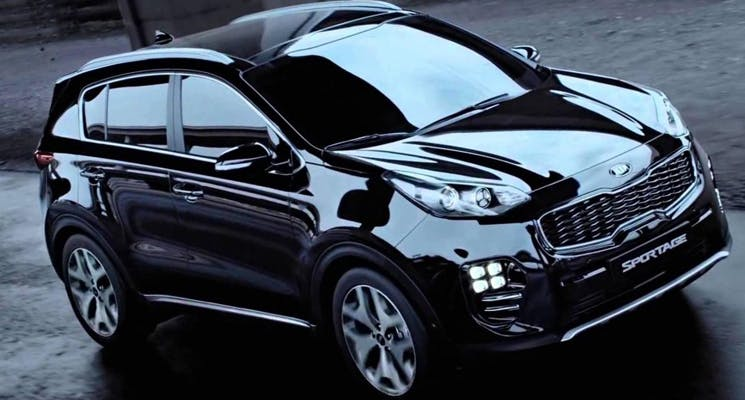 2019 kia sportage with a hybrid powertrain revealed. Black Bedroom Furniture Sets. Home Design Ideas
