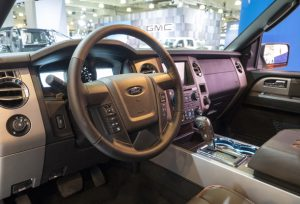 Ford Expedition Interior, Buying car in Dubai