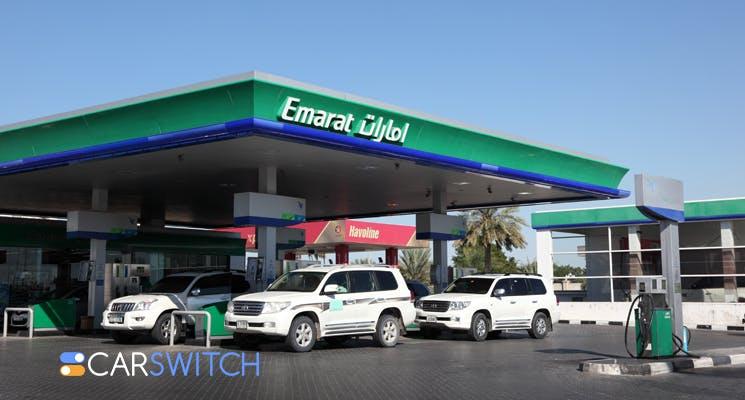 Fuel prices, Dubai used car