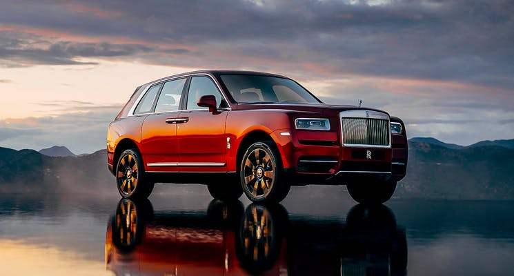 A Rolls Royce Diamond Cullinan Suv Newsroom