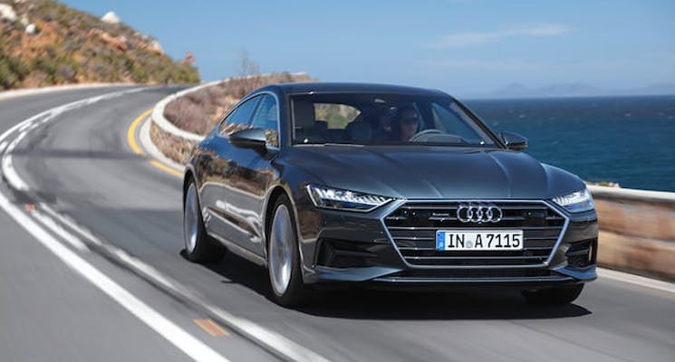 2019 Audi A7 With A Mild Hybrid System Has Arrived In The Uae
