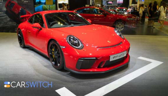 Is a Porsche 911 GT3 better with a stick shift or a PDK Gearbox