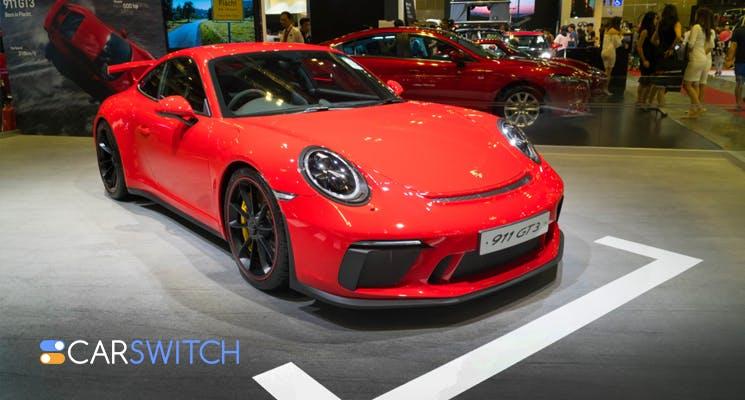 Is a Porsche 911 GT3 better with a stick shift or a PDK Gearbox