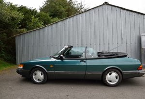 Saab 900 convertible, car for sale