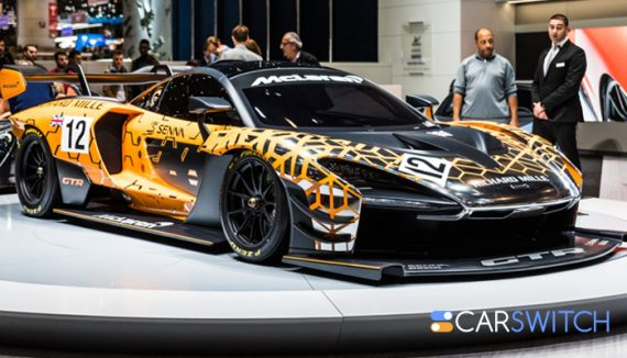 Mclaren's Senna, car for sale