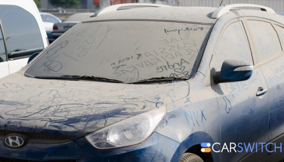 unwashed cars, used cars Dubai