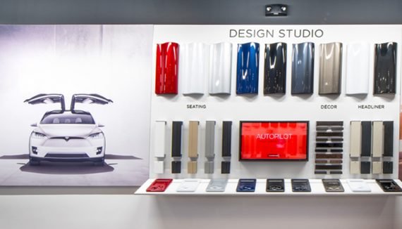 Have you heard about Tesla's temporary showroom in Mall of Emirates, Dubai ?