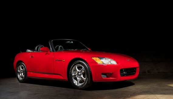 Can you guess how much an almost 20 year old roadster can be sold for