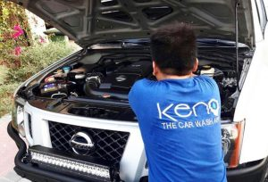 keno car care selling car