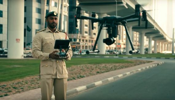 Great News, Dubai'ans, Dubai Police is using drones for Patrol!
