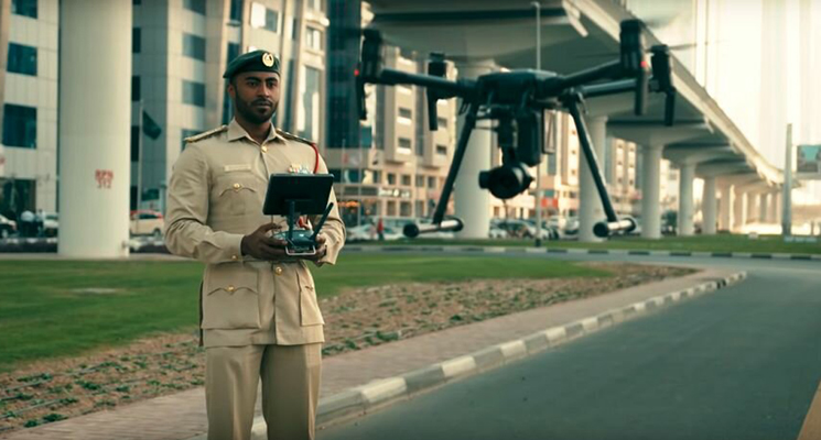 Great News, Dubai'ans, Dubai Police is using drones for Patrol!