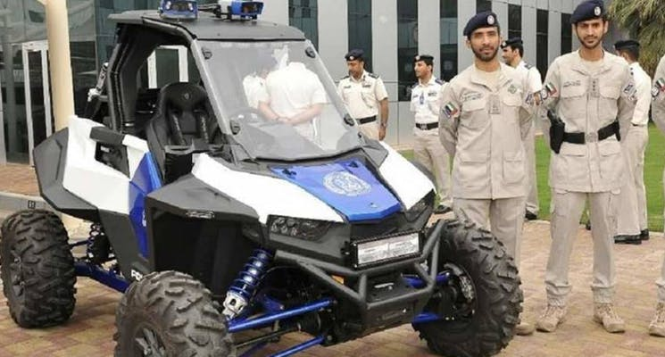 Abu Dhabi Police reveals its latest addition to the fleet. used cars