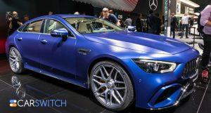 Mercedes AMG GT 4 Door Coupe Arrives in UAE