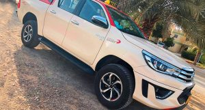 Welcome the All-New Toyota Hilux Taxi in Dubai!