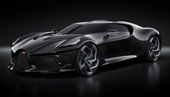 Bugatti La Voiture Noire is the most expensive new car for sale