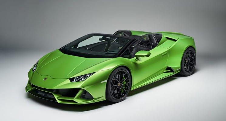 The All New Lamborghini Huracan Evo Spyder Unveiled Newsroom