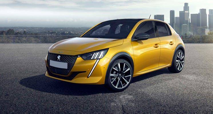 2019 Peugeot 208 cars for sale in Abu Dhabi