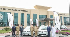 Dubai Police Goes Green with a New Fleet of Electric Cars!