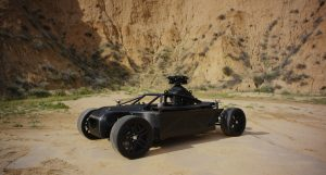 The Shape-Shifting Blackbird Can Imitate Any Car for Sale!