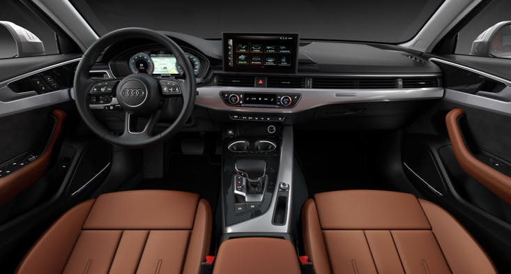 Audi A4 interior used cars Dubai