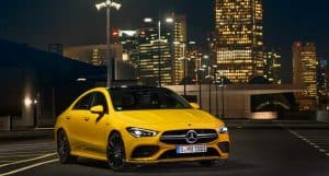 2020 Mercedes AMG CLA35 - a Stylish Four-Door Coupe!