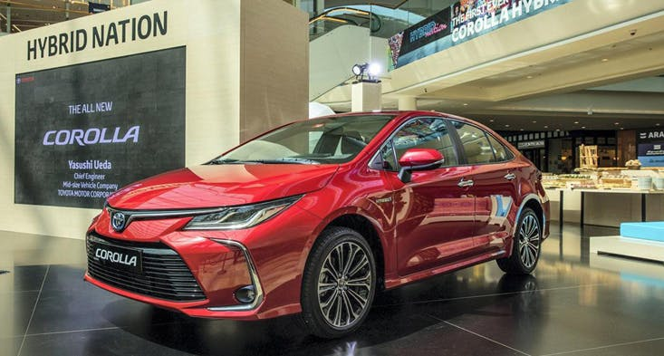 2020 Toyota Corolla Hybrid is now available in the UAE! used cars Dubai