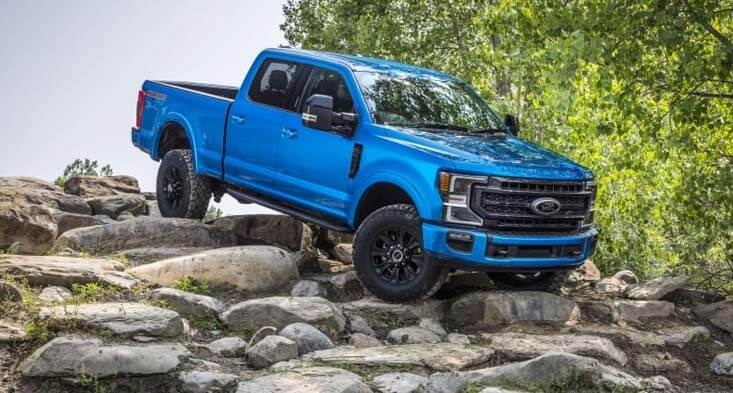 A Tremor off-road package will accompany the 2020 F-series Super Duty Trucks!