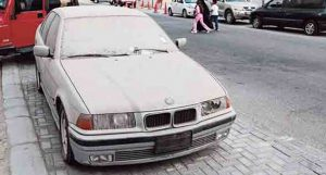 123 Abandoned Cars Seized by the Police in Sharjah