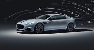 The First All-Electric Aston Martin Rapid E has been Unleashed!