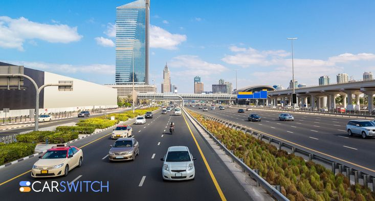 Dubai-Sharjah traffic corridor Sharjah used cars