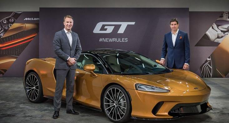 McLaren GT Supercar sell your car in Dubai