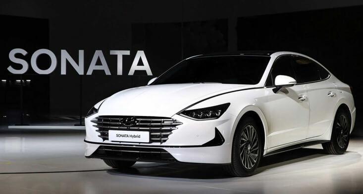 2020 Hyundai sonata hybrid sell car in Abu Dhabi
