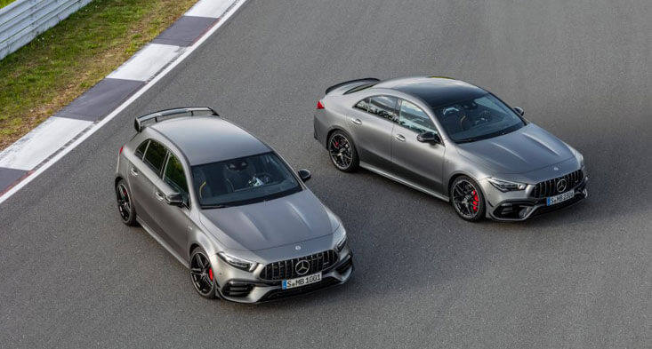 2020 Mercedes AMG A45 S and AMG CLA45 S! sell your car in Dubai