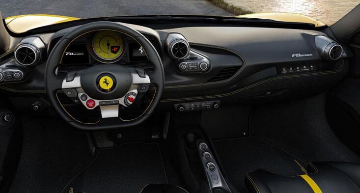 Ferrari F8 Drop-Top Version interior