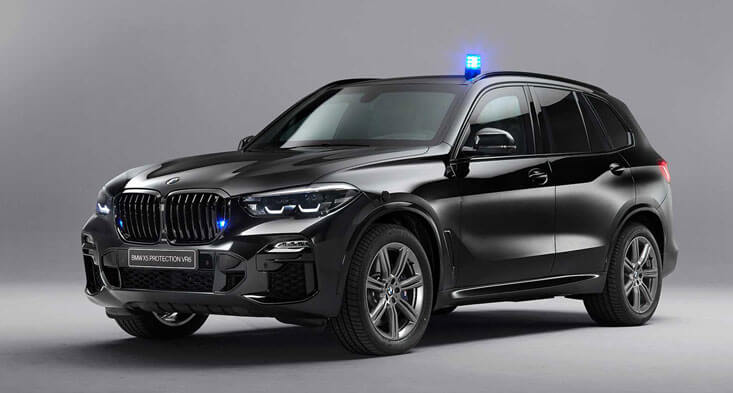 BMW X5 Protection VR6 can protect you from AK-47 bullets and bomb blasts!