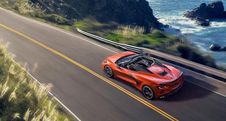 2020 Chevrolet C8 convertible new cars for sale in Sharjah