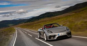 Porsche 718 Boxster Spyder Sounds Like An Exciting Roadster