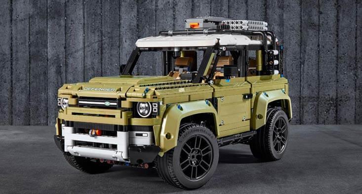 LEGO version of 2020 Land Rover Defender