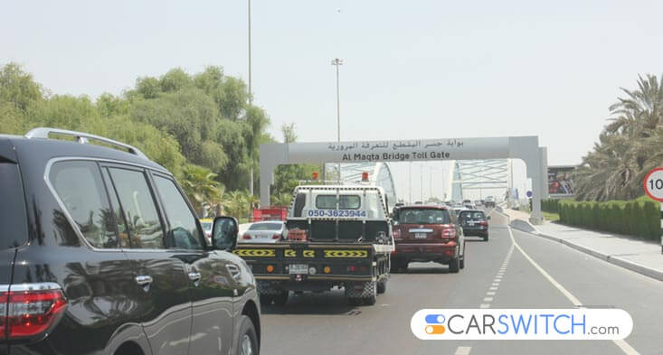 Trial period announced for used car Abu Dhabi toll gate system!