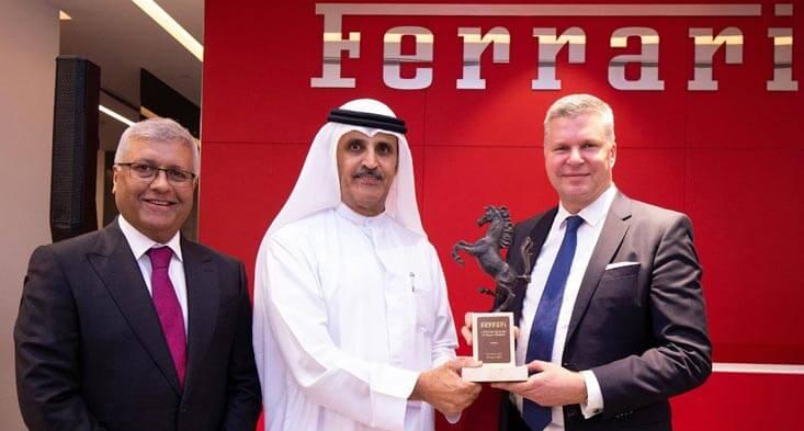 Al-Tayer Opens a State of the Art Ferrari Showroom in Dubai!